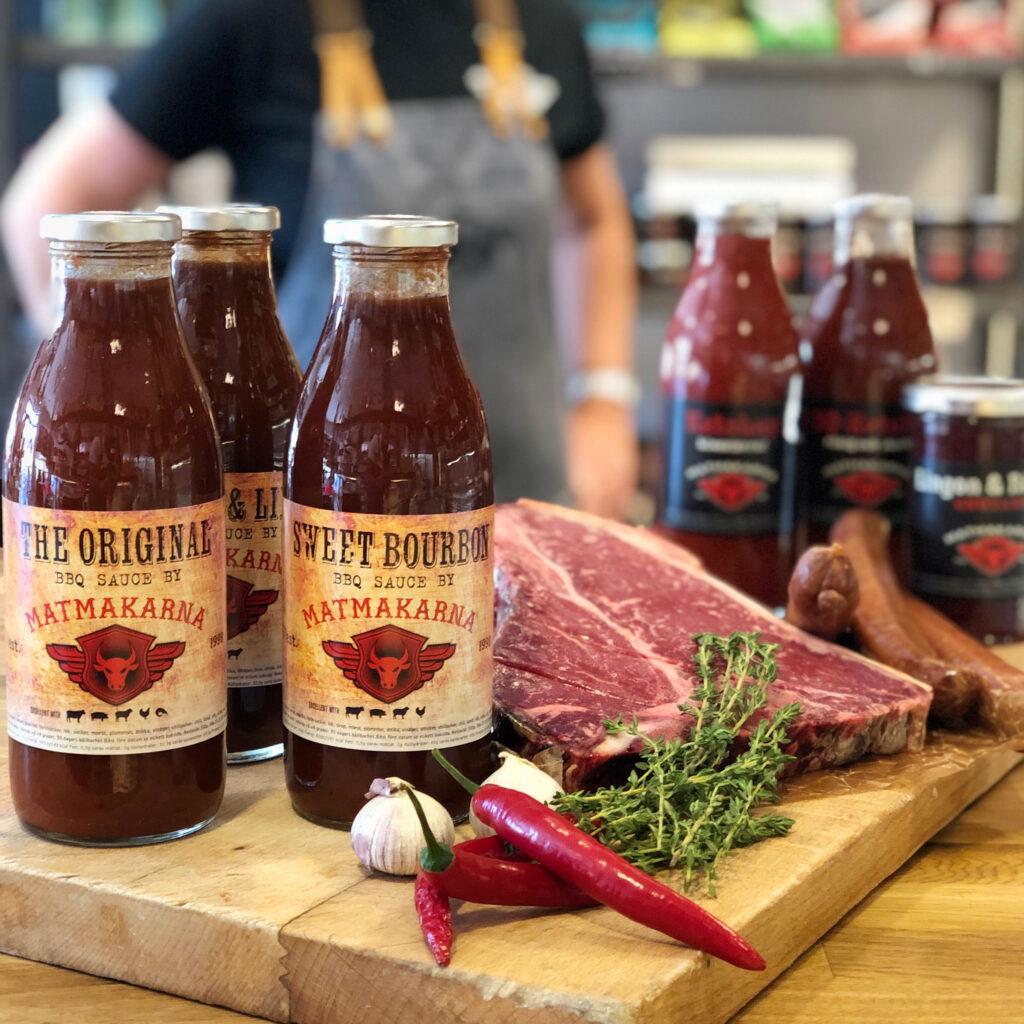 Matmakarna i Kävlinge bbq-ketchup-chilisås